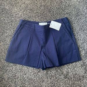 JOIE navy pleated shorts-Skirt look-Small